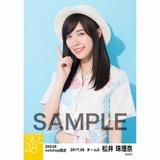 SKE48 2017年6月度 net shop限定個別生写真「かりゆし」衣装5枚セット 松井珠理奈