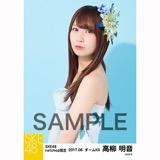 SKE48 2017年6月度 net shop限定個別生写真「かりゆし」衣装5枚セット 高柳明音