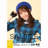 SKE48 2017年6月度 net shop限定個別生写真「狼とプライド」衣装5枚セット 山田樹奈