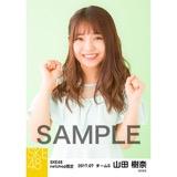 SKE48 2017年7月度 net shop限定個別生写真「夏のシースルー」5枚セット 山田樹奈