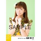 SKE48 2017年7月度 個別生写真「青空片想い」衣装5枚セット 後藤理沙子