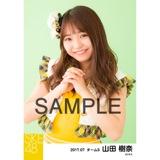 SKE48 2017年7月度 個別生写真「青空片想い」衣装5枚セット 山田樹奈