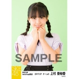 SKE48 2017年7月度 net shop限定個別生写真「ストライプ」5枚セット 上村亜柚香