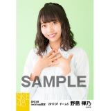 SKE48 2017年7月度 net shop限定個別生写真「ストライプ」5枚セット 野島樺乃