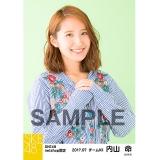 SKE48 2017年7月度 net shop限定個別生写真「ストライプ」5枚セット 内山命