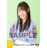SKE48 2017年7月度 net shop限定個別生写真「ストライプ」5枚セット 白井琴望
