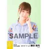 SKE48 2017年7月度 net shop限定個別生写真「ストライプ」5枚セット 鎌田菜月