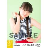 SKE48 2017年7月度 net shop限定個別生写真「ストライプ」5枚セット 深井ねがい