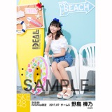 SKE48 2017年7月度 net shop限定個別ランダム生写真5枚セット 野島樺乃