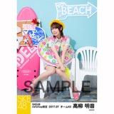 SKE48 2017年7月度 net shop限定個別ランダム生写真5枚セット 高柳明音