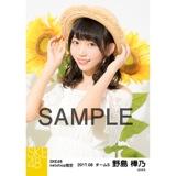 SKE48 2017年8月度 net shop限定個別生写真「ひまわり畑」5枚セット 野島樺乃