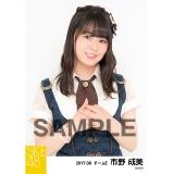 SKE48 2017年8月度 個別生写真「不器用太陽 コルセット」衣装5枚セット 市野成美