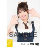 SKE48 2017年8月度 個別生写真「不器用太陽 コルセット」衣装5枚セット 熊崎晴香