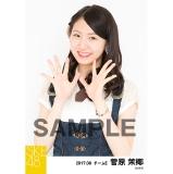 SKE48 2017年8月度 個別生写真「不器用太陽 コルセット」衣装5枚セット 菅原茉椰