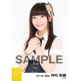 SKE48 2017年8月度 個別生写真「不器用太陽 コルセット」衣装5枚セット 仲村和泉