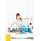 SKE48 2017年8月度 net shop限定個別ランダム生写真5枚セット 上村亜柚香