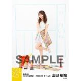 SKE48 2017年8月度 net shop限定個別ランダム生写真5枚セット 山田樹奈