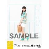 SKE48 2017年8月度 net shop限定個別ランダム生写真5枚セット 仲村和泉