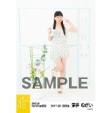 SKE48 2017年8月度 net shop限定個別ランダム生写真5枚セット 深井ねがい