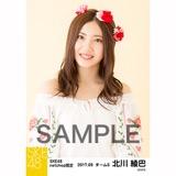 SKE48 2017年9月度 net shop限定個別生写真「刺繍ブラウス」5枚セット 北川綾巴