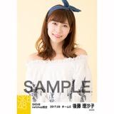 SKE48 2017年9月度 net shop限定個別生写真「刺繍ブラウス」5枚セット 後藤理沙子