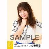 SKE48 2017年9月度 net shop限定個別生写真「刺繍ブラウス」5枚セット 山田樹奈