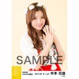 SKE48 2017年9月度 net shop限定個別生写真「刺繍ブラウス」5枚セット 木本花音