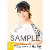 SKE48 2017年9月度 net shop限定個別生写真「刺繍ブラウス」5枚セット 福士奈央