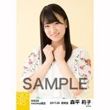 SKE48 2017年9月度 net shop限定個別生写真「刺繍ブラウス」5枚セット 森平莉子