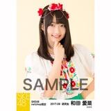 SKE48 2017年9月度 net shop限定個別生写真「刺繍ブラウス」5枚セット 和田愛菜