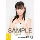 SKE48 2017年9月度 個別生写真「石榴の実は憂鬱が何粒詰まっている?」衣装5枚セット 森平莉子