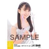 SKE48 2017年10月度 net shop限定個別生写真「天使」5枚セット 上村亜柚香
