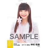 SKE48 2017年10月度 net shop限定個別生写真「天使」5枚セット 仲村和泉