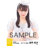 SKE48 2017年10月度 net shop限定個別生写真「天使」5枚セット 森平莉子