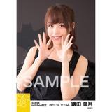 SKE48 2017年10月度 net shop限定個別生写真「悪魔」5枚セット 鎌田菜月