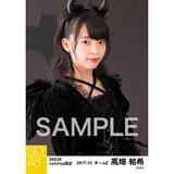 SKE48 2017年10月度 net shop限定個別生写真「悪魔」5枚セット 髙畑結希