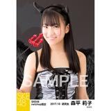 SKE48 2017年10月度 net shop限定個別生写真「悪魔」5枚セット 森平莉子