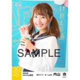 SKE48 2017年11月度 net shop限定個別生写真「学園祭」5枚セット 内山命
