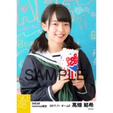 SKE48 2017年11月度 net shop限定個別生写真「学園祭」5枚セット 髙畑結希