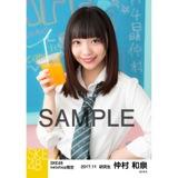 SKE48 2017年11月度 net shop限定個別生写真「学園祭」5枚セット 仲村和泉