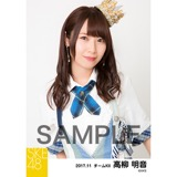 SKE48 2017年11月度 個別生写真「SKEフェスティバル 重力シンパシー」衣装5枚セット 高柳明音