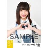 SKE48 2017年11月度 個別生写真「SKEフェスティバル 重力シンパシー」衣装5枚セット 仲村和泉