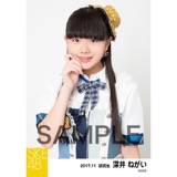 SKE48 2017年11月度 個別生写真「SKEフェスティバル 重力シンパシー」衣装5枚セット 深井ねがい