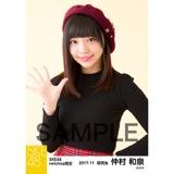 SKE48 2017年11月度 net shop限定個別生写真「タータンチェック」5枚セット 仲村和泉