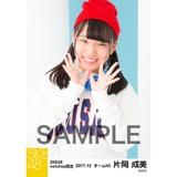 SKE48 2017年12月度 net shop限定個別生写真「ストリートスタイル」5枚セット 片岡成美
