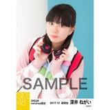 SKE48 2017年12月度 net shop限定個別生写真「ストリートスタイル」5枚セット 深井ねがい