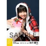 SKE48 2017年12月度 net shop限定個別生写真「2017年 クリスマス」5枚セット 北川愛乃