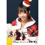 SKE48 2017年12月度 net shop限定個別生写真「2017年 クリスマス」5枚セット 野島樺乃