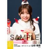 SKE48 2017年12月度 net shop限定個別生写真「2017年 クリスマス」5枚セット 山田樹奈