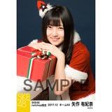 SKE48 2017年12月度 net shop限定個別生写真「2017年 クリスマス」5枚セット 矢作有紀奈